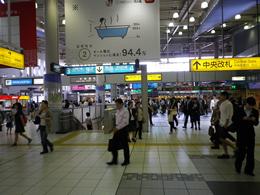 JR品川駅中央改札